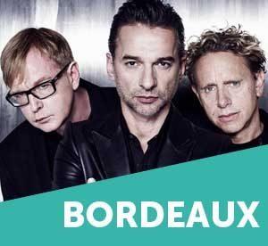 Depeche Mode à Bordeaux