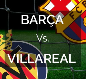 FC Barcelona contra Villareal Domingo 8 de Noviembre